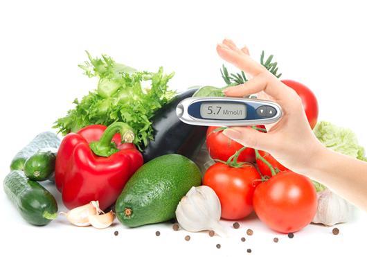 rau quả tươi tốt cho bệnh tiểu đường